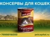 Консервы для кошек